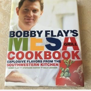 NEW Bobby Flay southwestern grill cookbook
